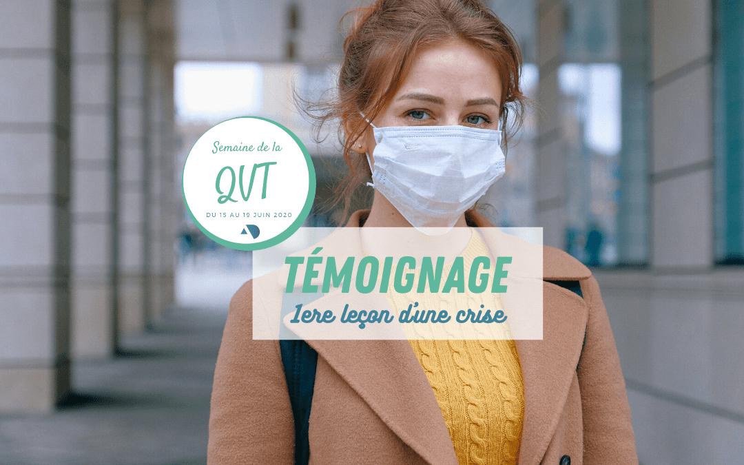 Les retours sur expérience de la crise sanitaire : 2/3 – Aurélie, Préparatrice en pharmacie