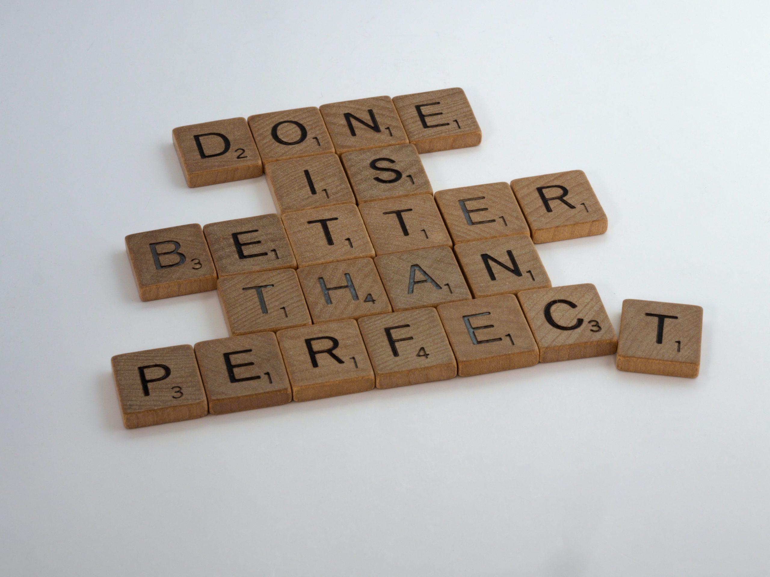 perfectionnisme au travail